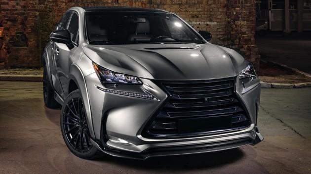 Lexus NX GreyWolf