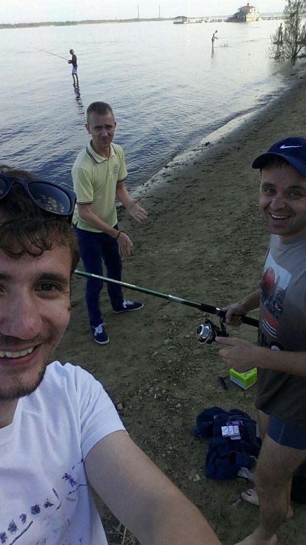 Наша команда рыбаков
