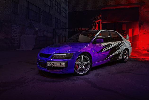 Mitsubishi Evolution IX
