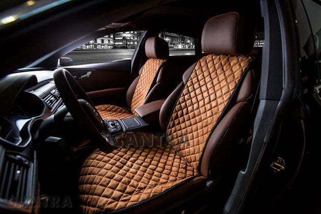Меховые чехлы для сидений авто как пошить своими руками 22
