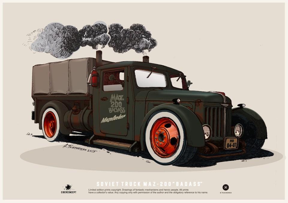 Тюнинг советских автомобилей: мечта миллионов воплощена 25 фото