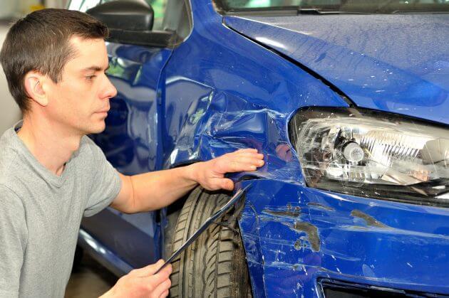 Не спешите ремонтировать ТС после аварии, чтобы страховая компания оценила ущерб от повреждений