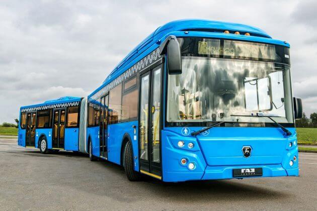 Сочленный автобус ЛИАЗ категории DE