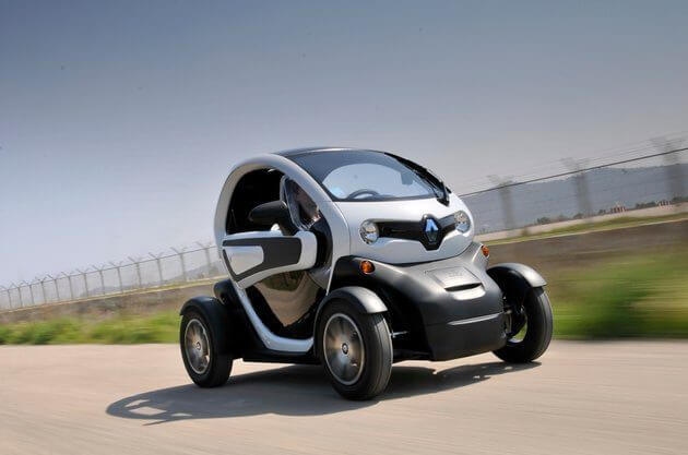 Электроквадрицикл Renault TWIZY