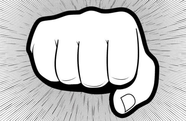 Кулак символизирующий защиту