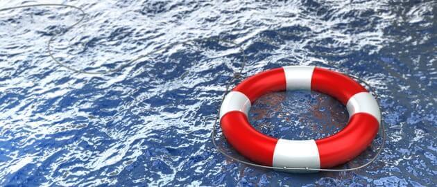 Спасательный круг - метафора защиты, страхования