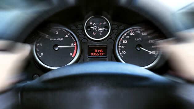 Автомобильная панель приборов