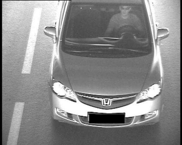 Фиксация камерой непристегнутого водителя