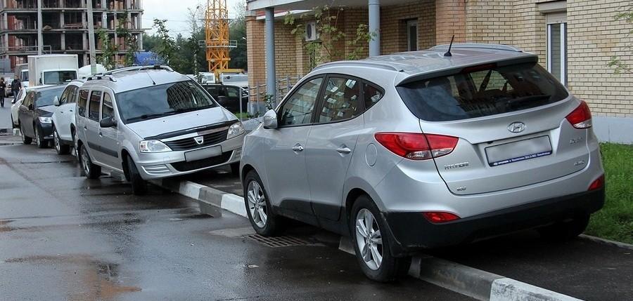 Где разиестить фото нарушения парковки возле длма